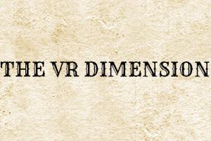 VR Dimension Logo, Rhine Games